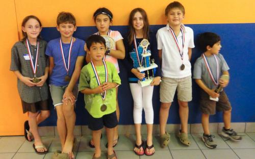 Phillippi Shores Elementary takes a very close 2nd place.