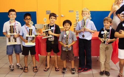 Winners of the K-3 U500 Section.